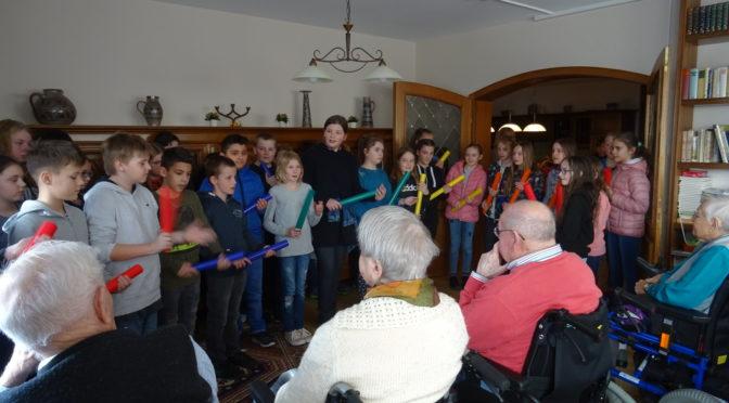Musik im Altenpflegeheim